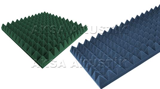 renkli piramit sünger